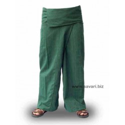 Pantalones Thai, ropa Tailandesa, color rojo