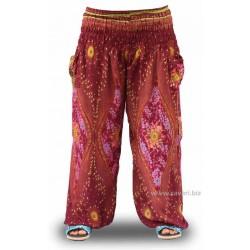 Pantalones Bombachos, Bali, color negro