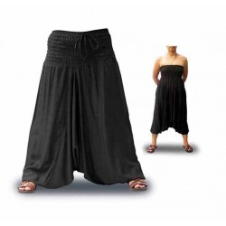 Pantalones Afganos rayon lisos