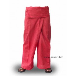 Pantalones Thai rayitas