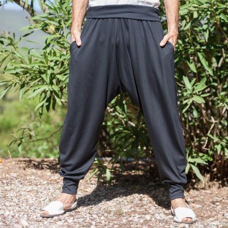 Pantalones Turcos Bolsillos negro