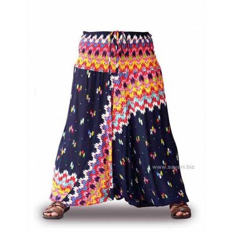Pantalones Cagados, azul marino