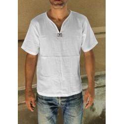 Camisa Zen cuello Pico