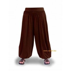 Pantalones Bombachos, lisos, ropa Hippie