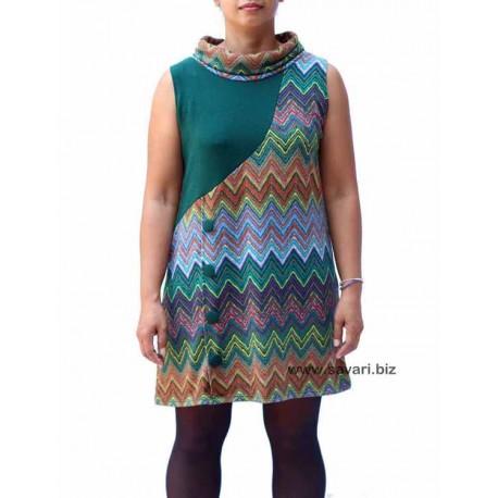 Vestido Moda Urbana, estampado 1