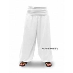 Pantalones de Yoga, bombachos, color blanco
